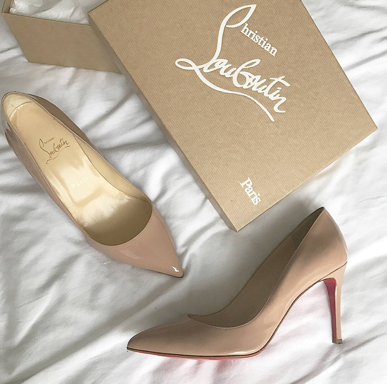 Christian Louboutin Pigalle 85 Nude