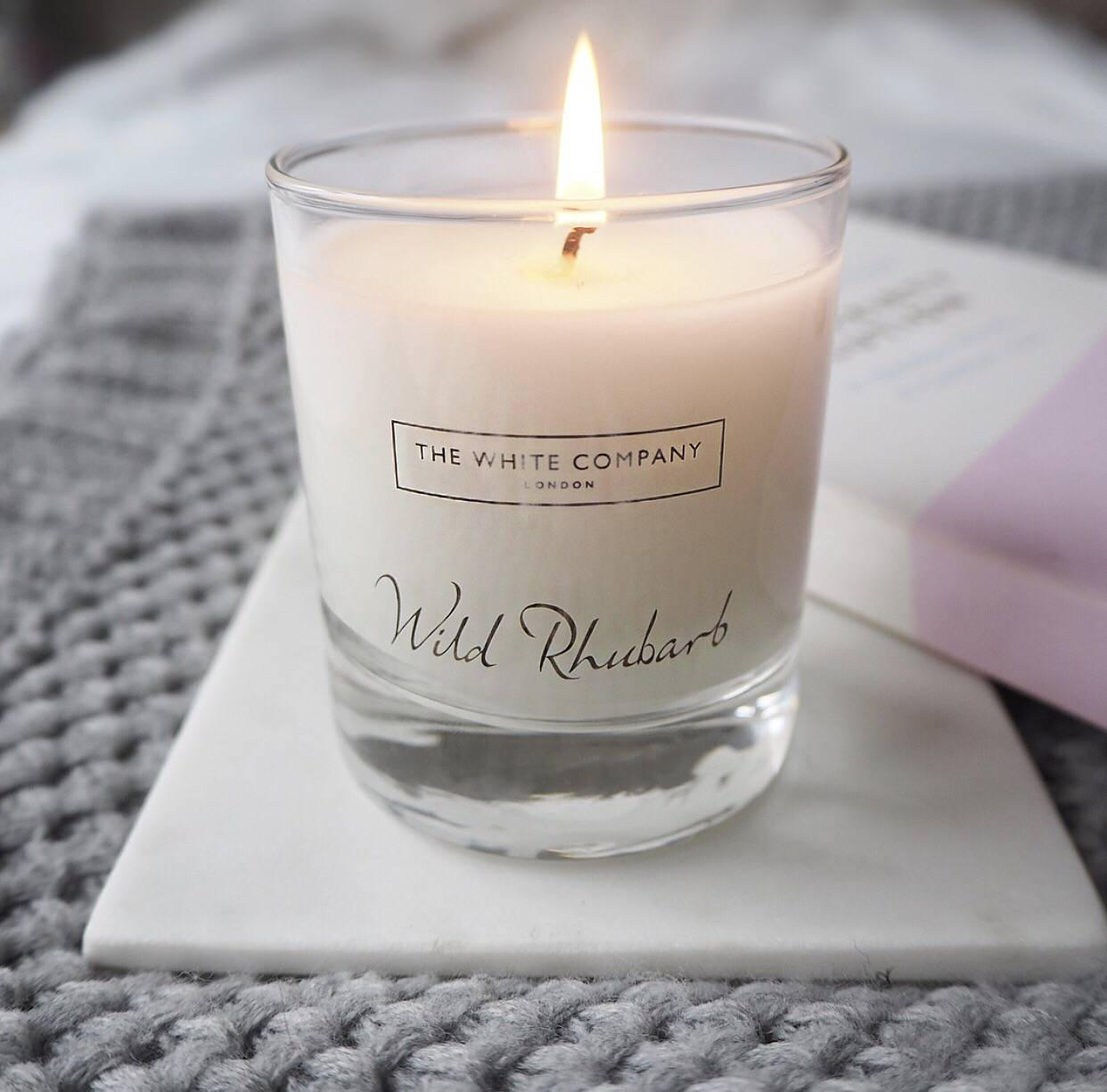 The White Company Wild Rhubarb - Tips to help with anxiety