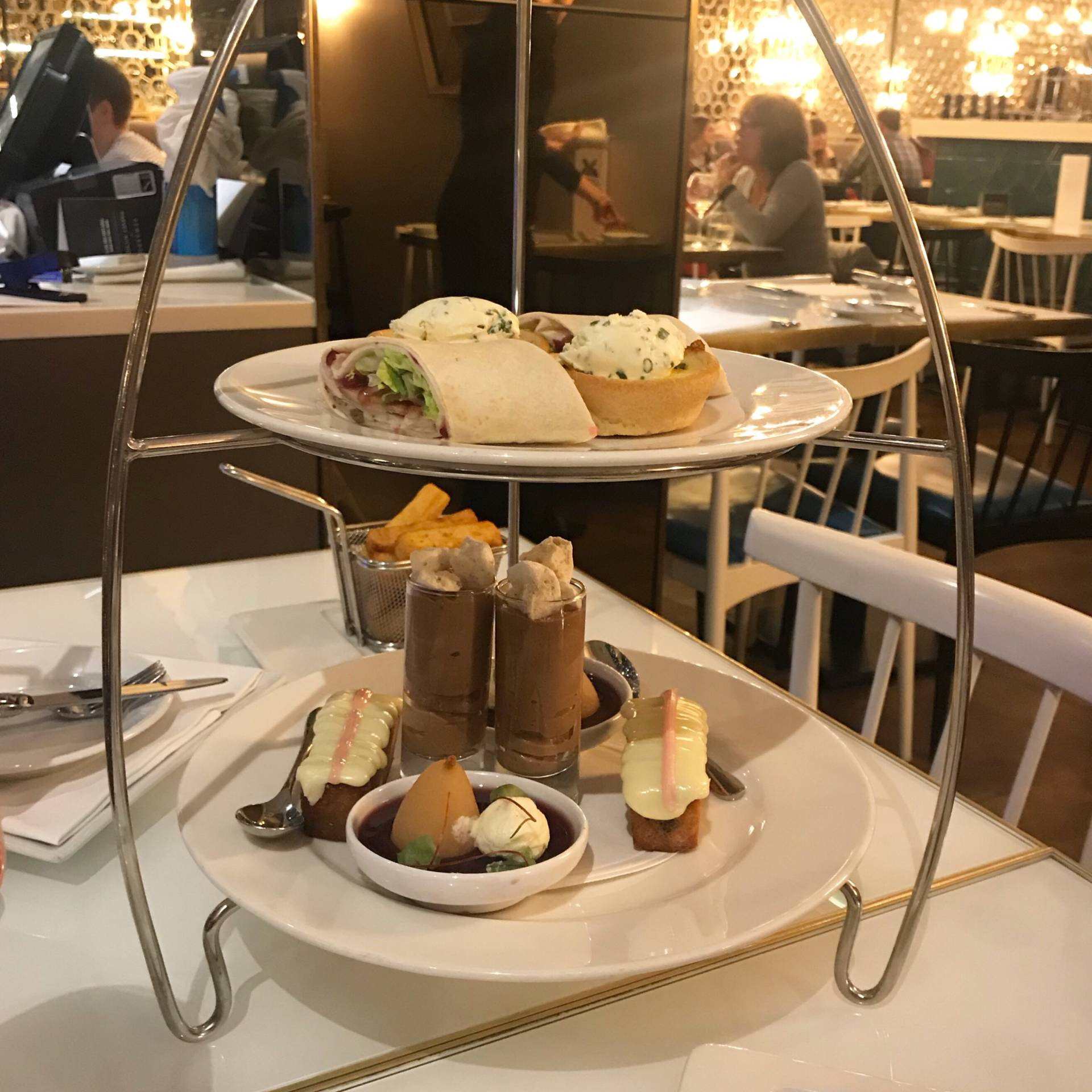 Afternoon Tea Harvey Nichols Leeds
