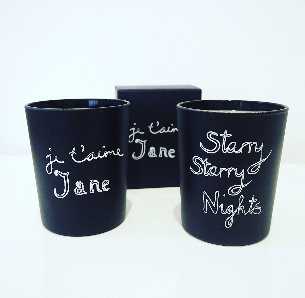 Bella Freud Starry Starry Nights Scented Candle, Bella Freud Je T'aime Jane Scented Candle