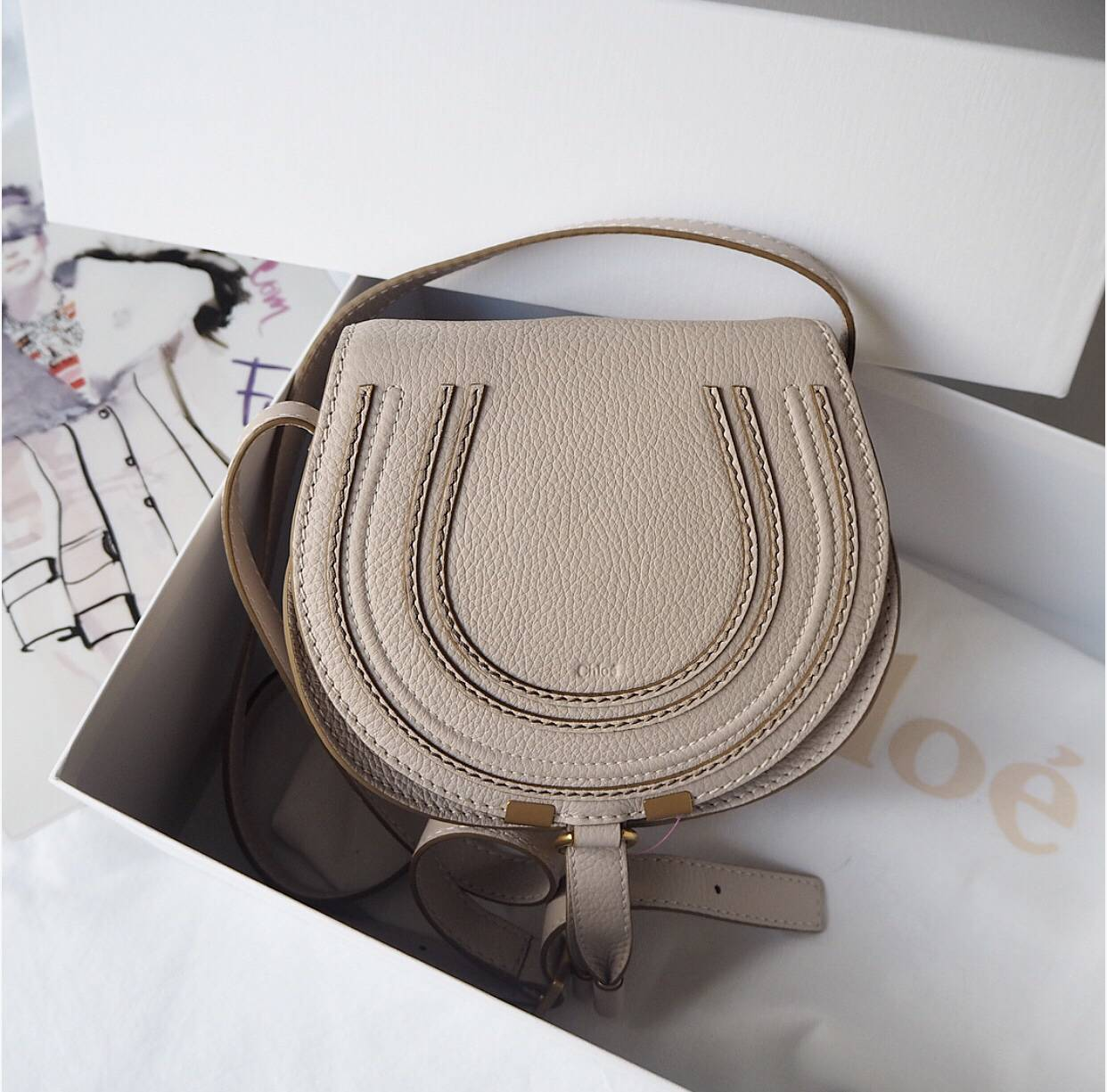 85b714d3374c Introducing the Chloe Mini Marcie Handbag