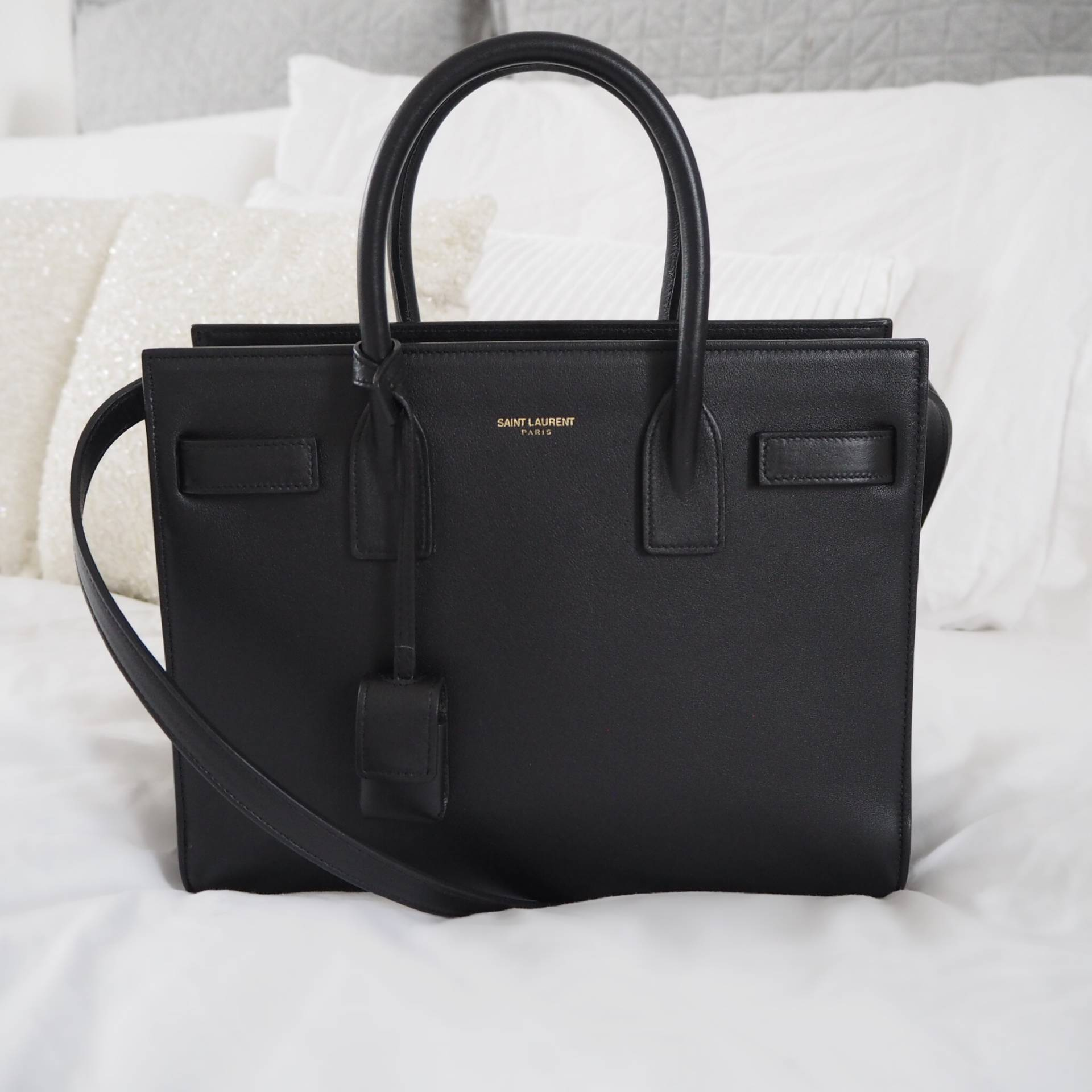 3bd215c065061 Saint Laurent Sac de Jour Baby in Smooth Leather